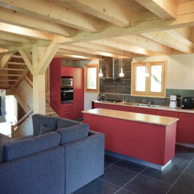 Ecureuil - salon et cuisine
