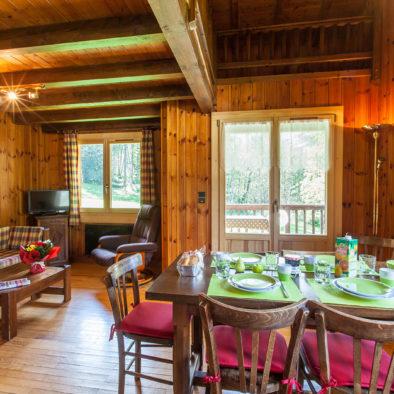 Les 2 Ormes - salon et salle à manger