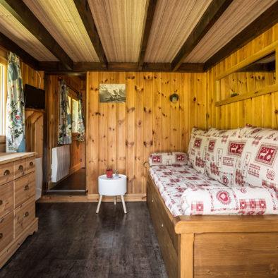 Domino - salon avec lits gigognes