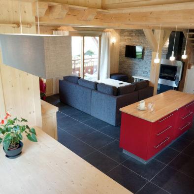Ecureuil - salle à manger cuisine salon