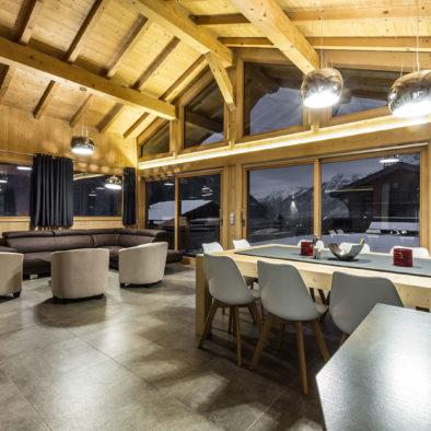 Gros Pierrier - salon et salle à manger