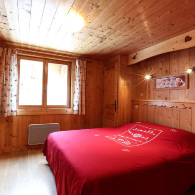 Appartement Petit Bechard - chambre matrimoniale