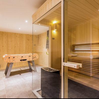 Gros Pierrier - sauna traditionnel et babyfoot