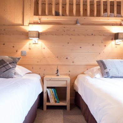 Ecureuil - chambre 3 lits simples