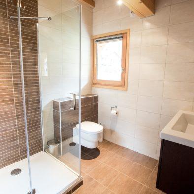 Ecureuil - salle de bain chambre matrimoniale à l'étage