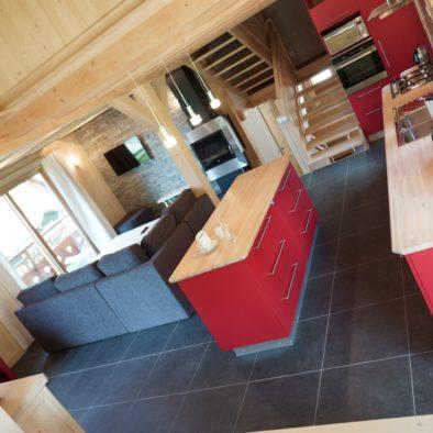 Ecureuil - cuisine et salon