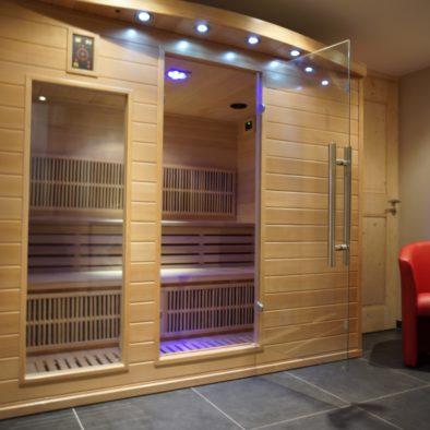 Ecureuil - sauna infrarouge