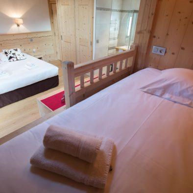 Bouquetin - salle de bain 1ère chambre matrimoniale