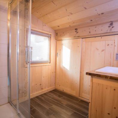 Bouquetin - salle de bain à l'étage